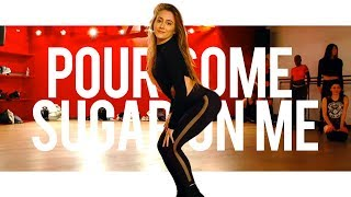 Def Leppard - Pour Some Sugar On Me   Choreography With Aisha Francis