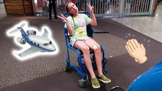 Surprise Trip -- She Needs A Wheelchair Now!!!