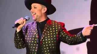 "Boy George ""Bigger Than War"" West Hollywood Halloween 2015"