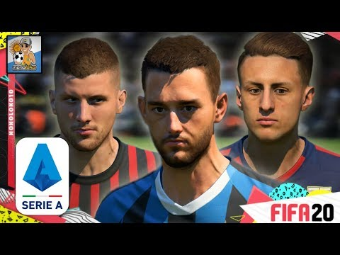 FIFA 20 FACES & PLAYER RATINGS SERIA A TIM