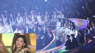 IDOLS REACTION TO (G)I-DLE @2018 MMA (BTS,WANNA ONE,BLACKPINK,GFRIEND,MOMOLAND)