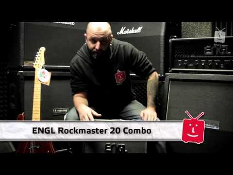 ENGL Rockmaster 20 Combo Kytarové lampové kombo