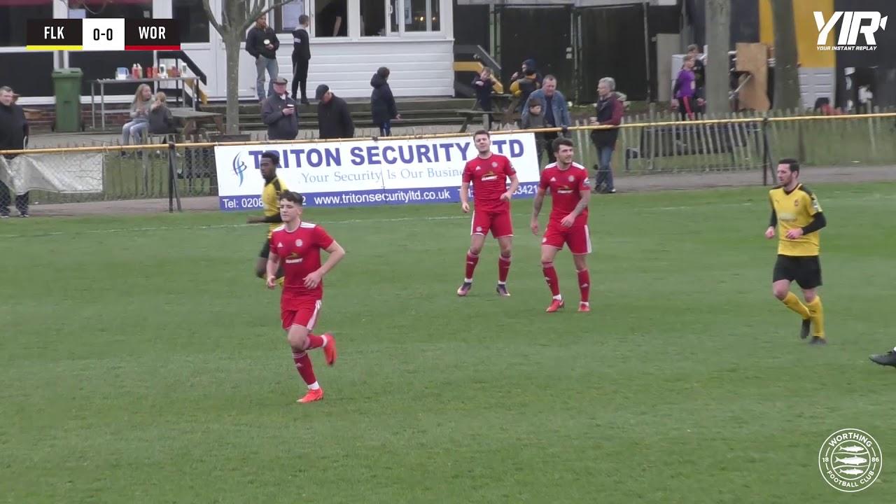 HIGHLIGHTS: Folkestone 0-1 Worthing [A] – League