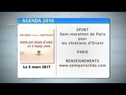 Agenda du 14 octobre 2016