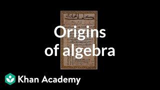 Origins of Algebra