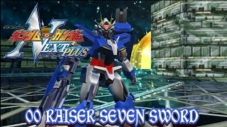 [Spesial Edition] Mod Texture Gundam Vs Gundam Next Plus - 00 Raiser Seven Sword