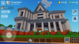 Block Craft 3D : Building Simulator Games For Free Gameplay #605 (iOS & Android) | White Mansion