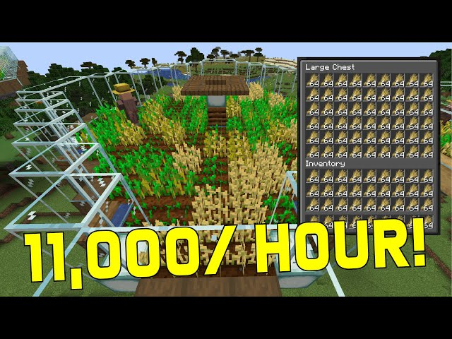 Top 5 Minecraft Automatic Farms