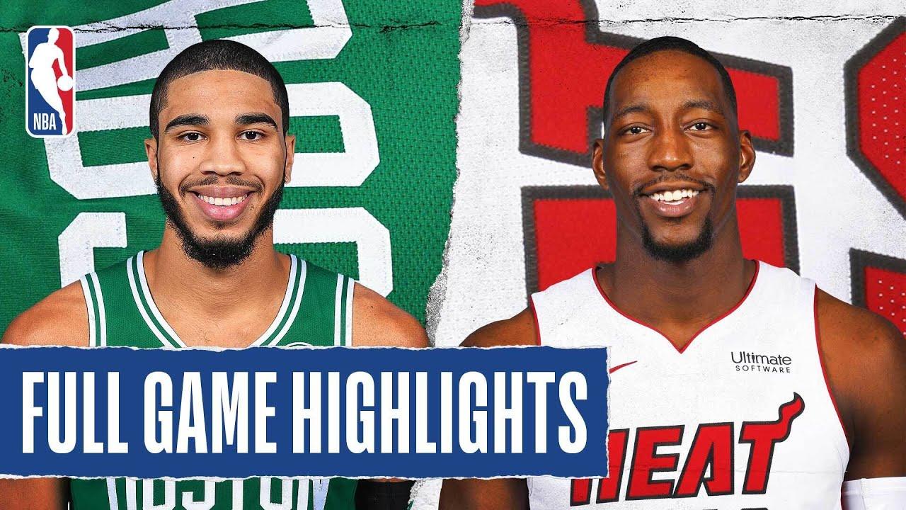 Celtics vs Heat | August 04, 2020