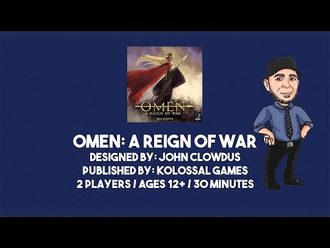 Omen: A Reign of War - Blue Player Rule Video!