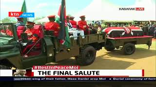 Mzee Moi's Burial proceedings  | FULL