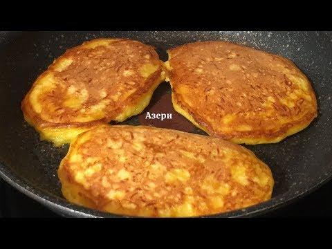 Balqabaqlı oladi / pumpkin pancakes