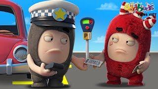 Oddbods | Vé đậu xe | Phim hoạt hình vui nhộn cho trẻ em