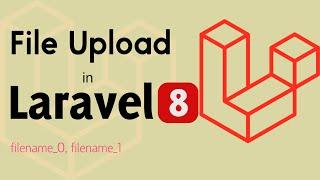 Laravel 8 tutorial | Upload file