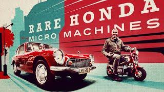 Riding Honda's smallest rarest motorbike to see Honda's smallest rarest car / Jonny Smith CarPervert