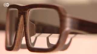 Brillen aus Holz | Euromaxx - Säge-Werke