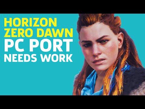Horizon Zero Dawn PC Port Needs Some Work