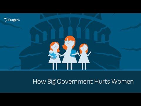 Big Government Hurts Women