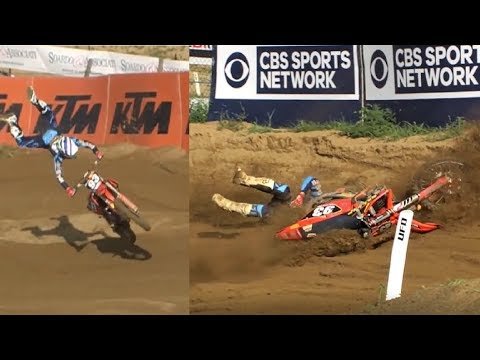Biggest Motocross Crashes 2017 || Part 1 MXGP