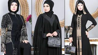 شوفى عبايات 2020 موديلات عبايات خروج سوداء | Abaya Fashion Style