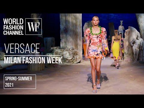 Versace spring-summer 2021 | Milan Fashion Week