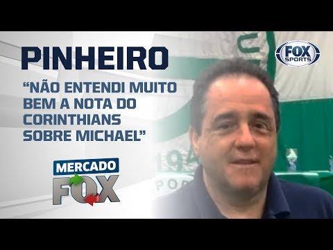 Dirigente do Goiás reclama de 'carnaval' do Corinthians em negociação com Michael