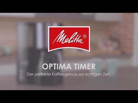 Melitta® Optima Timer - Highlights