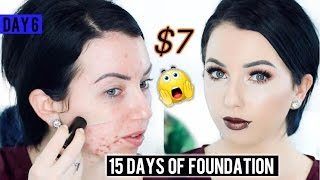 FULL COVERAGE $7 STICK FOUNDATION!? Max Factor Pan Stik {First Impression} 15 DAYS OF FOUNDATION