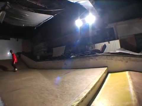 Timotej Lampe Ignjic at the indoor park