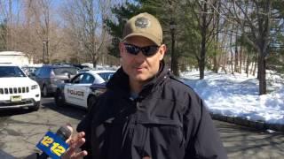 Police chief discusses deer rescue effort