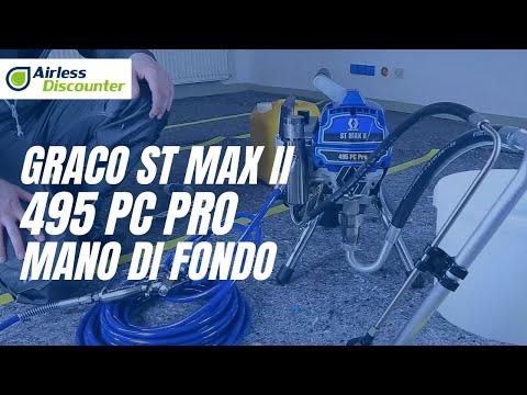 Graco ST MAX II 495 PC PRO - mano di fondo - rinnovo ufficio