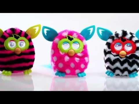 Интерактивная игрушка Furby BOOM Солнечная Волна