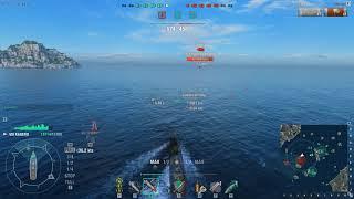 World of Warships 2018 Ранговые бои. Кагеро. Эсминцы Японии.