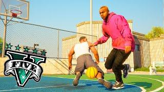 GTA V - Franklin Vs Da Baby In Basketball