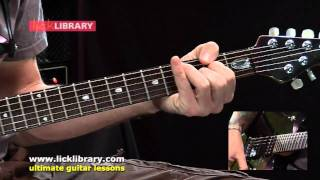 How To Play Hells Kitchen By Dream Theater   Guitar Lesson Sample By Jamie Humphries Licklibrary