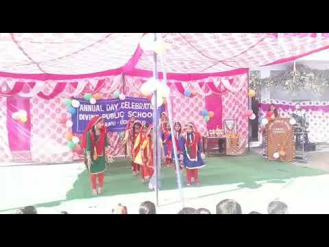 Chan Chan panjab meri dogri dance by divine public school sundrani Udhampur