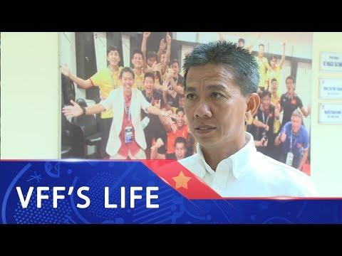 HLV Hoàng Anh Tuấn: Thi đấu với những đối thủ mạnh, giúp cầu thủ trưởng thành hơn
