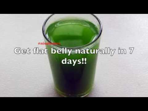 Get rid of belly fat in just 7 days