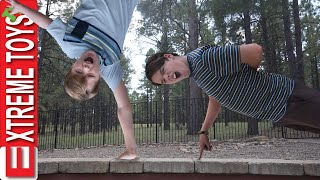 WWE Tryouts! Ethan and Cole Extreme Fitness Challenge!