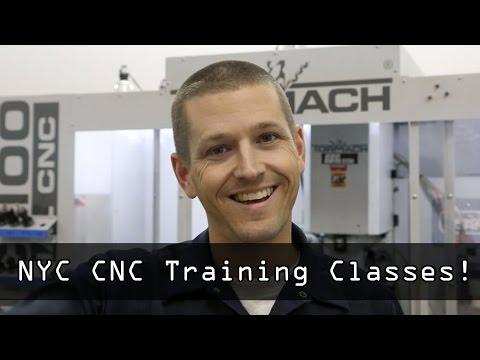 CNC Training Class Program! - YouTube