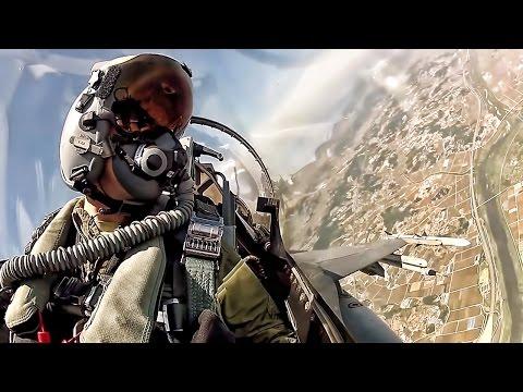 Fighter Jet Cockpit • F-16 Takeoff To Landing