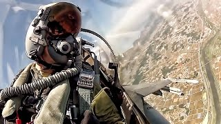 Fighter Jet Cockpit • F-16 Takeoff To Landing