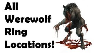 Skyrim - ALL WereWolf Ring Locations Guide