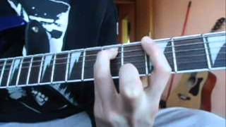 How to play DIO-Metal will never die on guitar