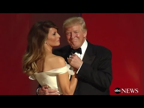 President Trump, First Lady Melania's First Dance