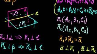 §52 Общие уравнения прямой