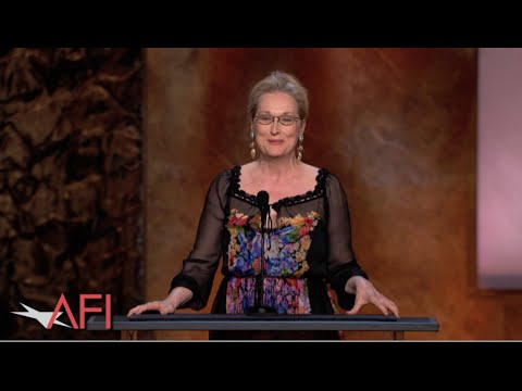 Meryl Streep salutes Jane Fonda at the 42nd AFI Life Achievement Award
