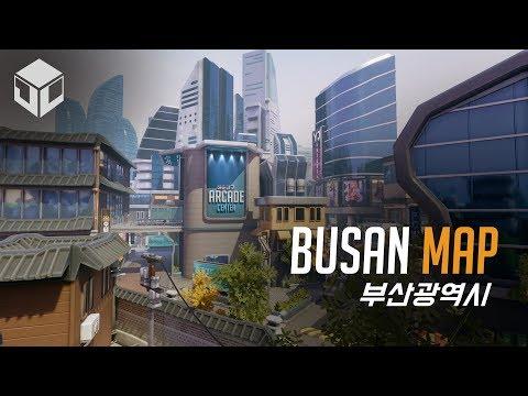 自製地圖之神 韓國 - 釜山