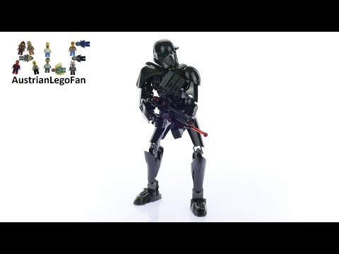 Vidéo LEGO Star Wars 75121 : Imperial Death Trooper