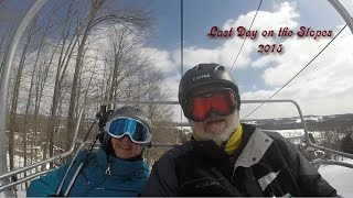 preview picture of video 'Last day of 2015 ski season for Roni & Eric'
